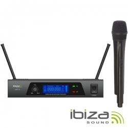 IBIZA UHF 10 MICROFONE S/FIOS