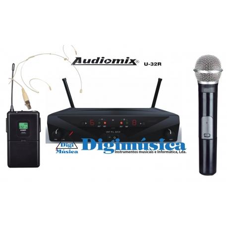 Audiomix U-32R (Pack duplo MH)