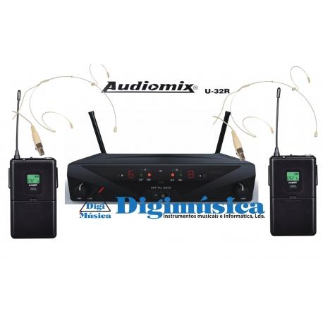 Audiomix U-32R (Pack duplo HH)