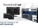 Novas mesas dogitais Soundcraft Série Ui